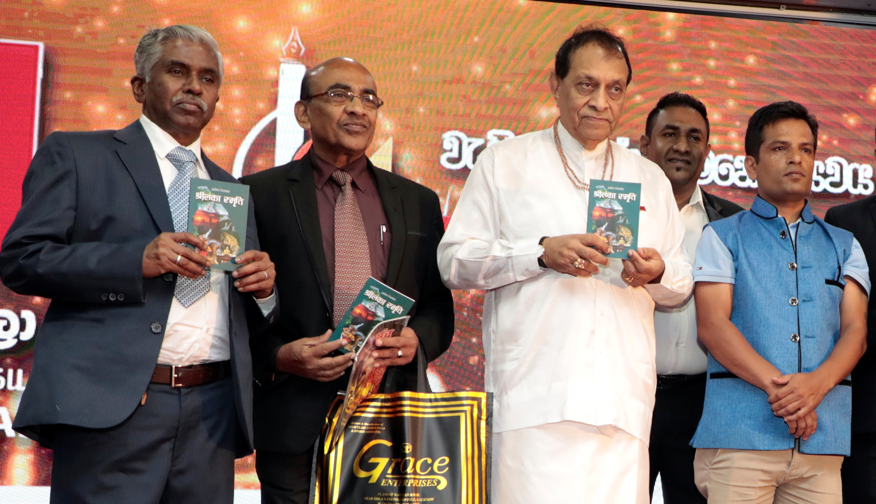 Journalist Ashok Silwal's book launched in Sri Lanka
