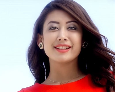 Miss Nepal World Asmi Shrestha leaving for US today to take part in Miss World beauty pageant