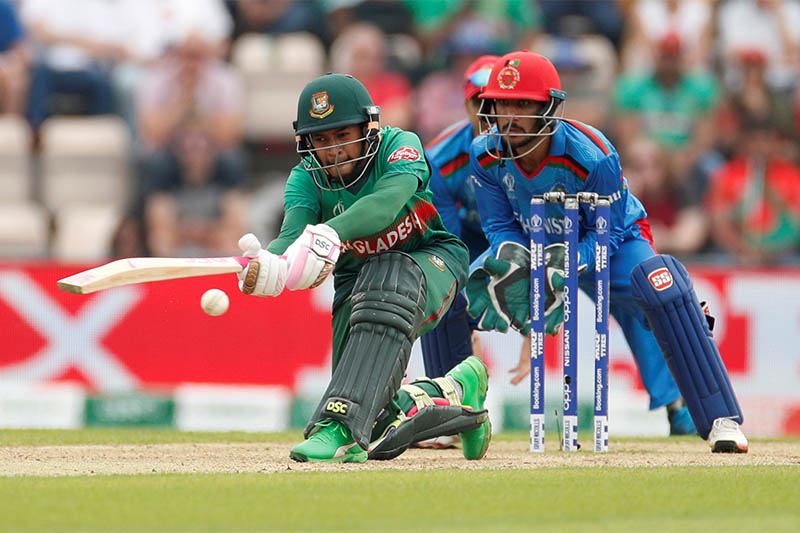 Mushfiqur 83 helps Bangladesh to 262-7 against Afghanistan