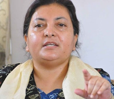 President Bhandari stresses on economic empowerment of women