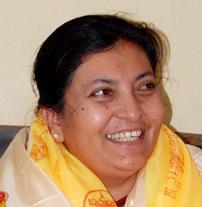 President Bhandari inaugurates campaign to clean Phewa Lake