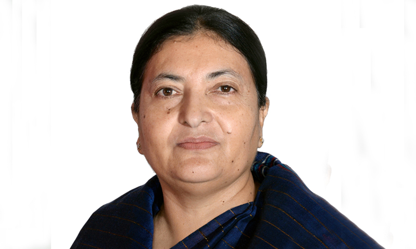 president Bhandari administered oath of office and  secrecy