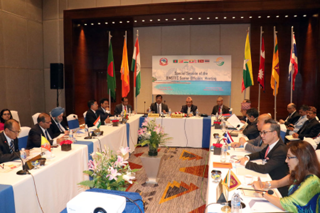 Senior Officials Meeting takes place in Kathmandu