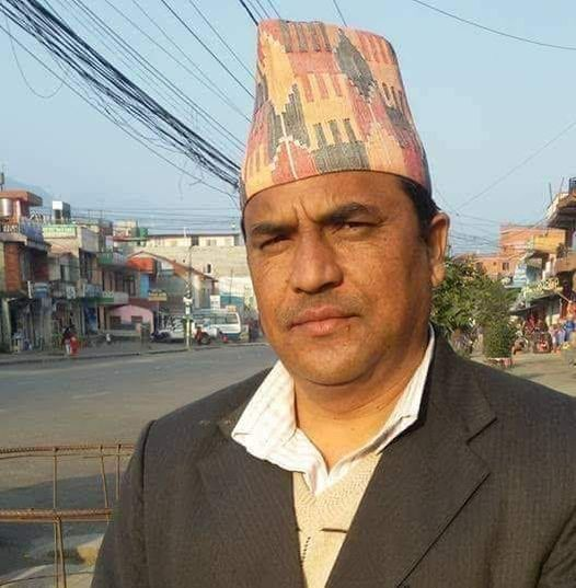 Kavre based journalist Chaulagain passes away due to the infection of coronavirus