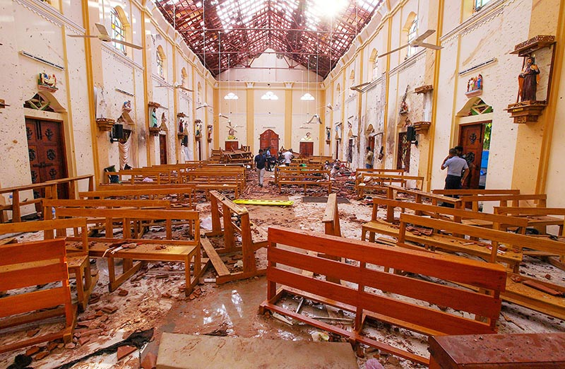 207 killed in blasts in Sri Lankan churches, hotels on Easter Sunday