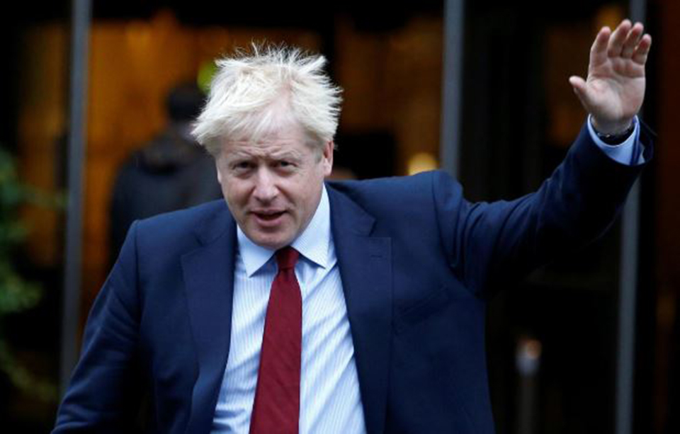 UK Prime Minister Boris Johnson says he has tested positive for coronavirus