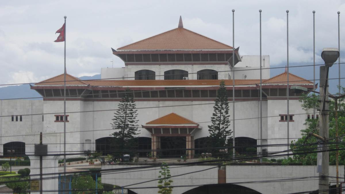 RJPN obstructs parliament demanding publicize the report on the Madhes protest