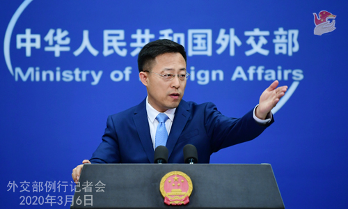 China government spokesman says U.S. army might have brought virus to China