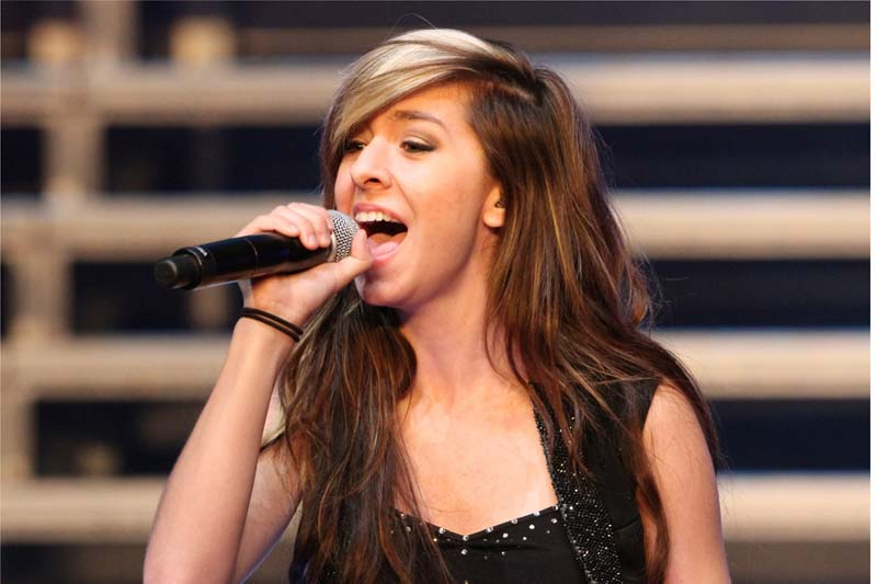 "FILE – In this June 29, 2014 file photo, ""The Voice"" Season 6 contestant Christina Grimmie performs as part of ""The Voice Tour"" at Cobb Energy Centre, in Atlanta. .Photo: AP/File"