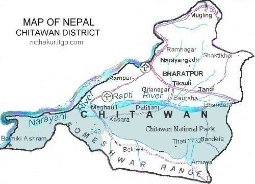 Two killed in road accident at Chitawan