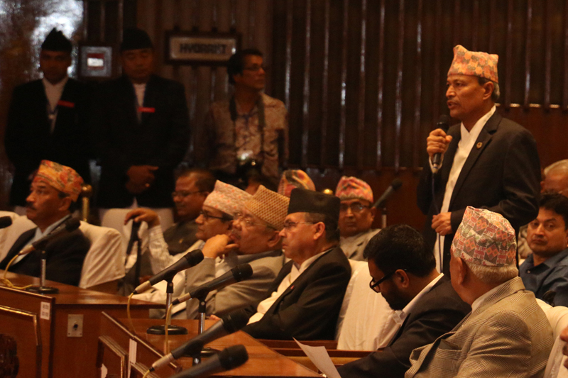 Main opposition UML sought clarifications from the government