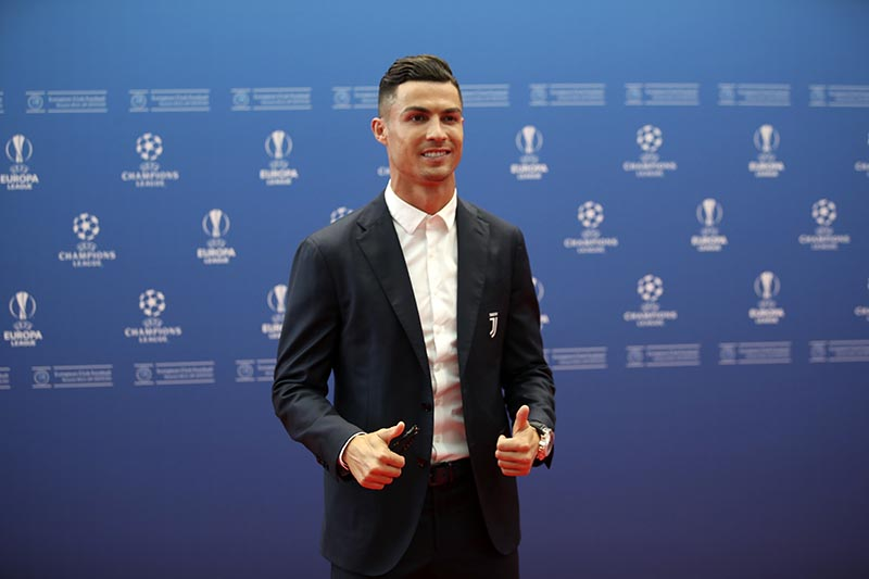 Ronaldo's Juve get Atletico rematch in CL group-stage draw