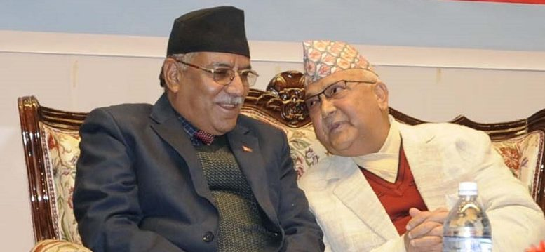 Both the Chair of the CPN UML and the CPN Maoist Center given responsibility to resolve the differences