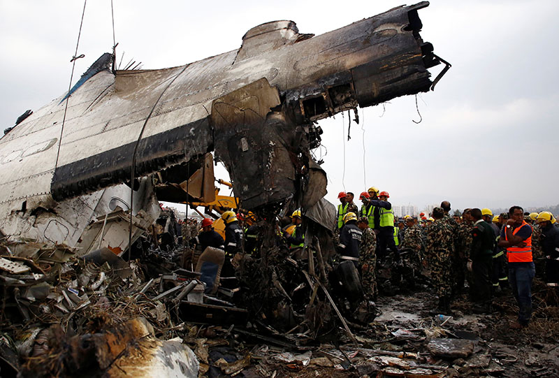 High level Bangali delegation arrives in Kathmandu to take updates about the fatal plane crash