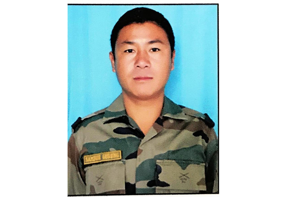 Nepali National Serving In The Indian Army Killed In Jammu & Kashmir