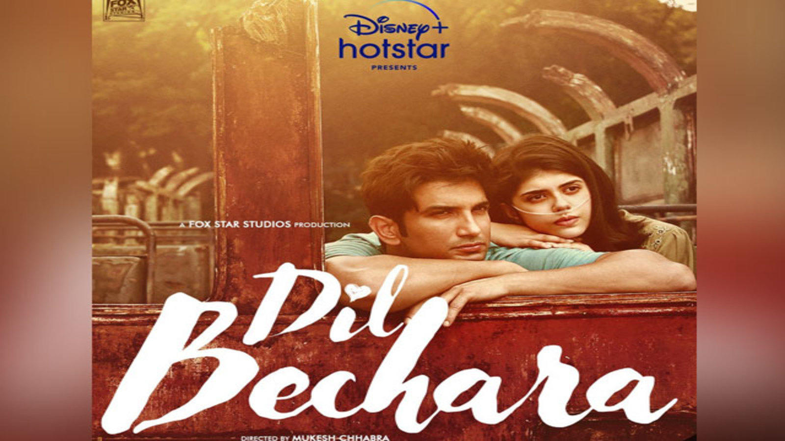 Sushant Singh's last film- Dil Bechara- comes to release