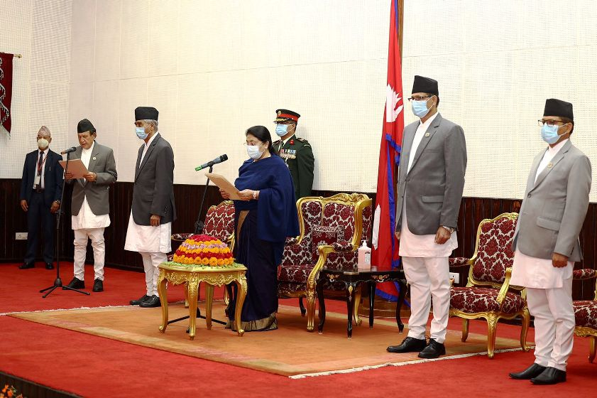 Foreign Minister Khadka administered oath of office and secrecy