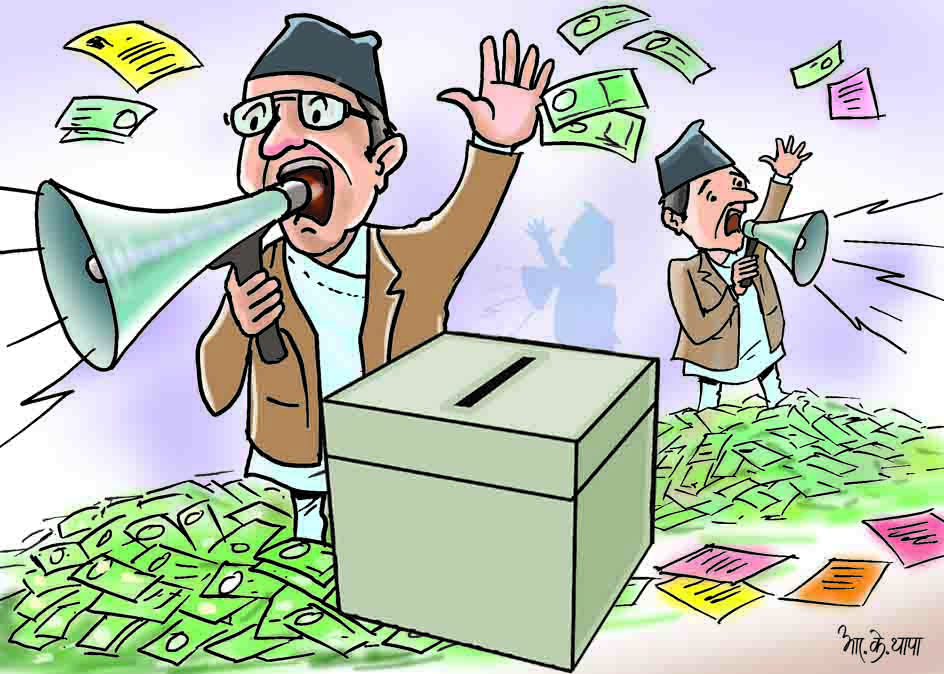 Check rampant expenditure during elections