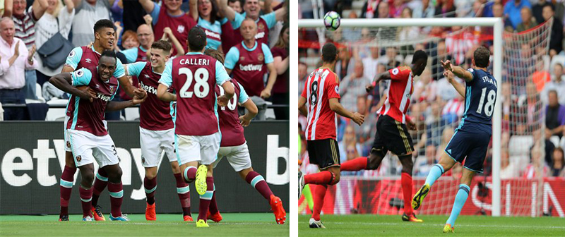 West Ham, Middlesbrough grab first wins in Premier League