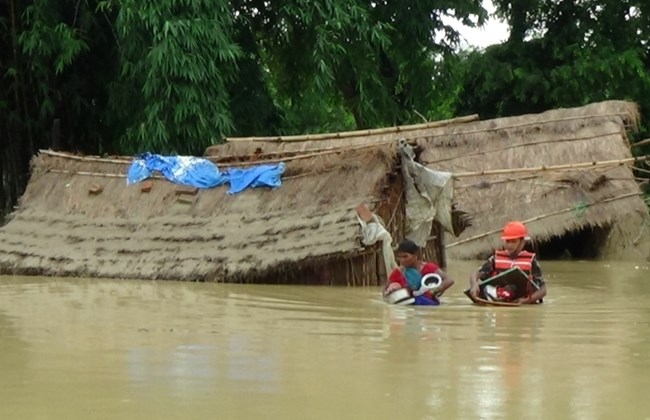 Floods and landslide triggered by the by torrential rainfall claims 43 lives in Nepal, 24 more missing and 20 sustain injuries