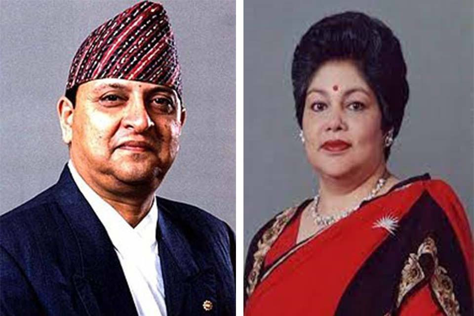Former King Gyanendra Shah and former Queen Komal Shah tested positive for coronavirus