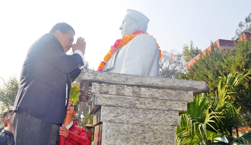 21st memorial day of 'iron man' marked in Kathmandu