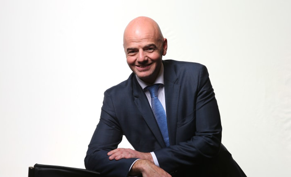 Infantino re-elected FIFA president unopposed at Paris congress
