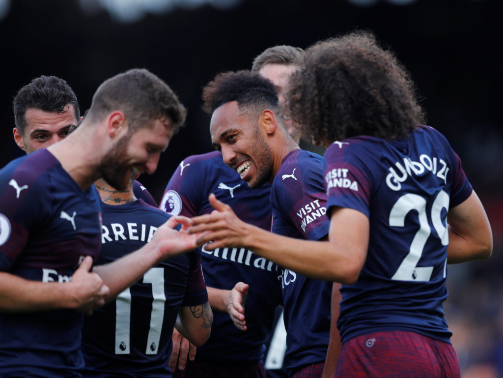 Arsenal run riot in second half to win 5-1 at Fulham