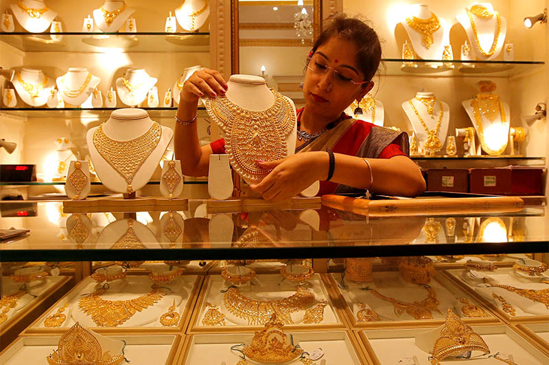 Gold price makes history in terms of price high in Nepali market