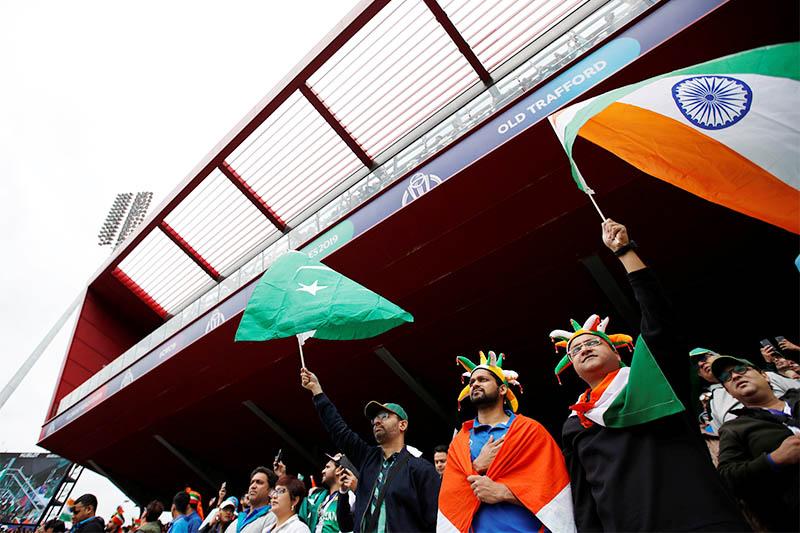India and Pakistan rivalry renewed under grey English skies