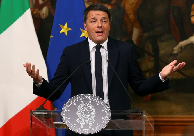 Italy's Renzi to resign after referendum rout