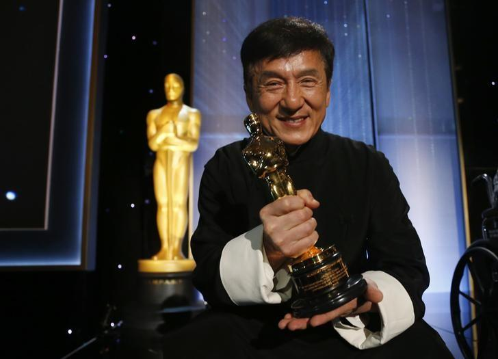 Five decades and 200 films later, Jackie Chan 'finally' wins Oscar