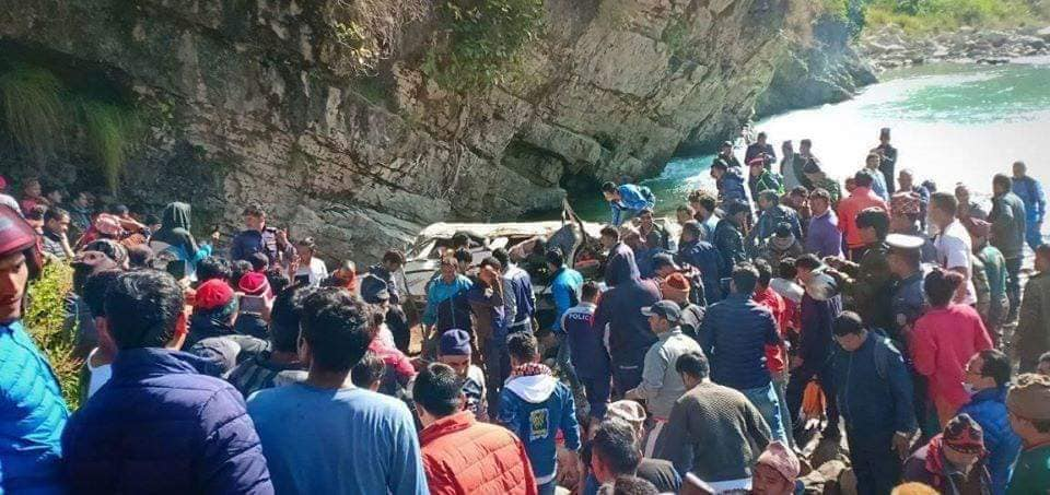 14 killed in Baglung jeep accident