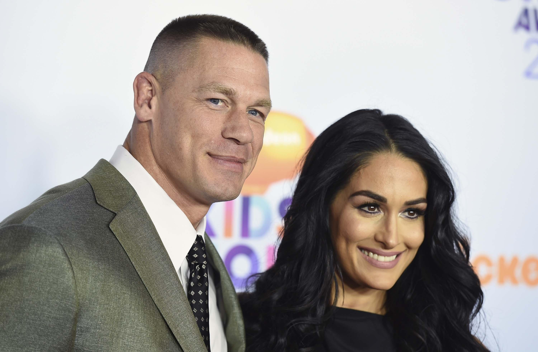 John Cena and Nikki Bella get engaged at WrestleMania