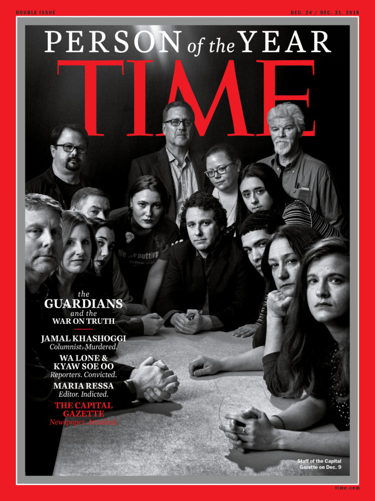 Time 'Person of Year' goes to journalists, including imprisoned Reuters pair