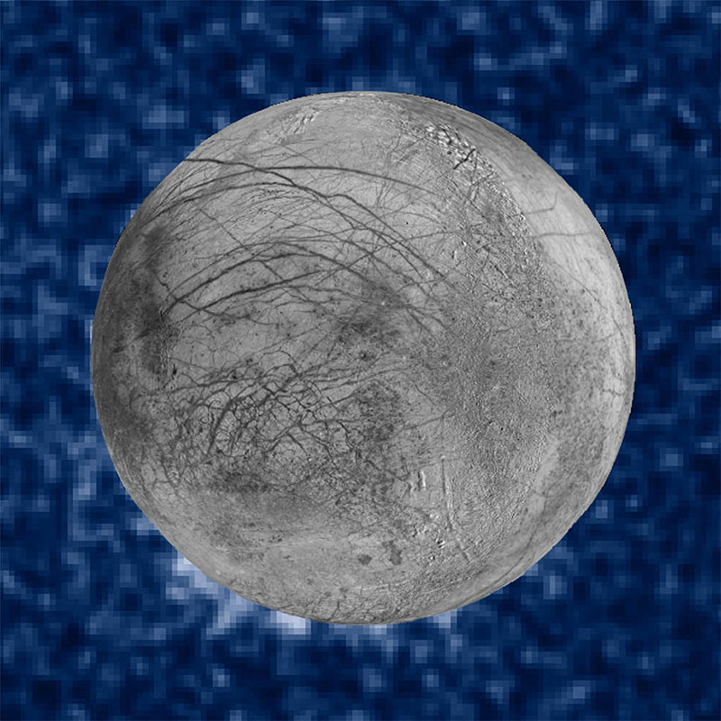 Jupiter moon may have water plumes that shoot up 125 miles
