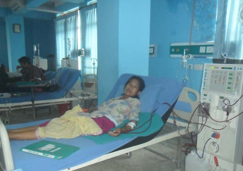 Kidney failure patient from a remote village in Rolpa appeals for help