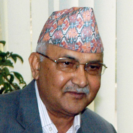 Prime Minister Oli Admitted to TUTH
