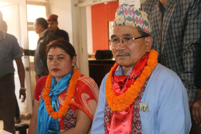 Nepali Congress's candidate elected as mayor and deputy mayor of Lalitpur metropolitan city