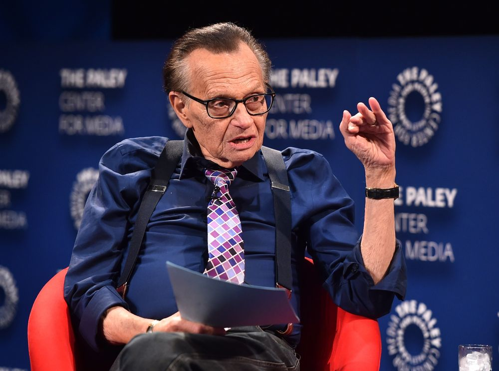 Talk show host Larry King in hospital with COVID-19