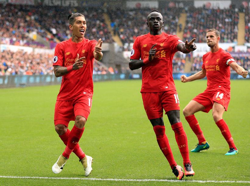 Milner spot on as Liverpool sink Swansea