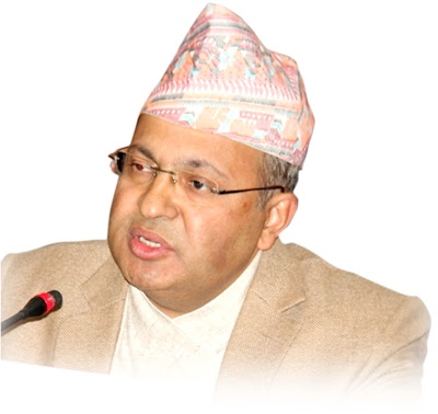 Lok Darshan Regmi as the Chief Secretary