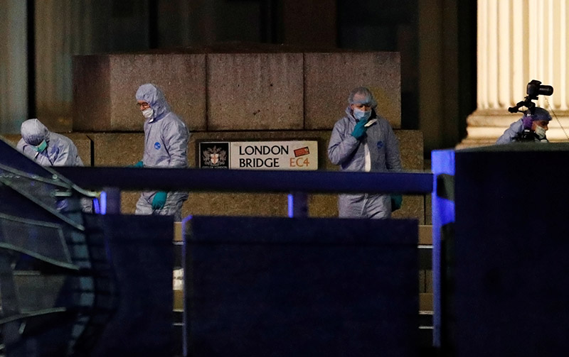 London Bridge attacker had been convicted of terrorism offences but released last year