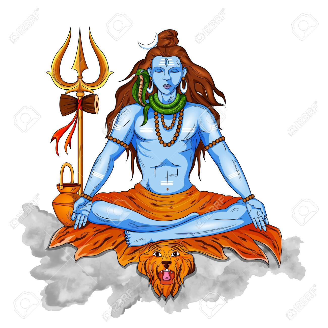 Mahashivaratri is being observed by Hindus