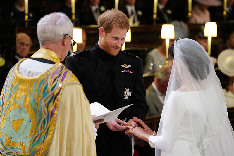 Just Married! Prince Harry and Meghan Markle declared husband and wife