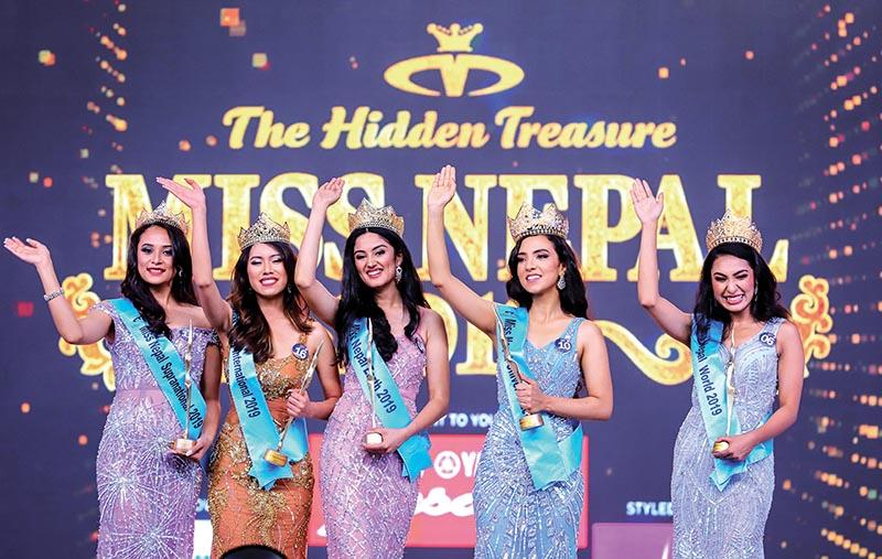 Anushka Shrestha crowned as Miss Nepal World 2019