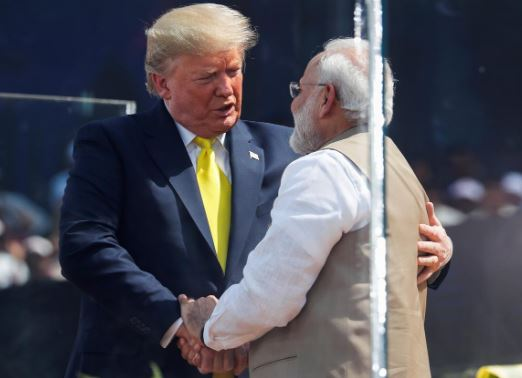 Trump says US keen to boost defence equipment sales to India