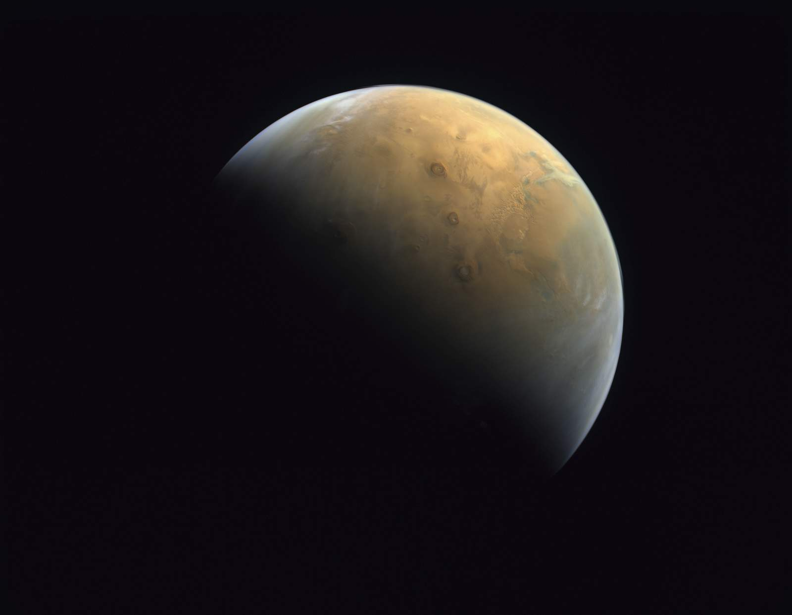 United Arab Emirates publishes first photo from Mars probe