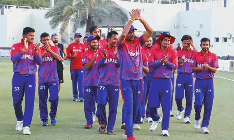 Nepal wins UAE in first T20 Series
