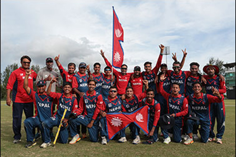 Nepal Reaches in semi-final in Youth Asia Cup
